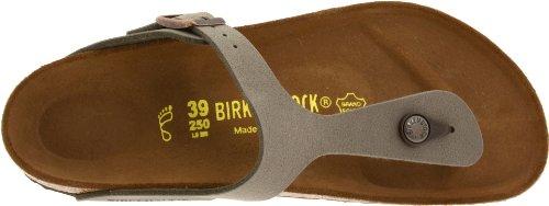 Birkenstock Gizeh Birko-Flor, Sandali Unisex adulto Stone
