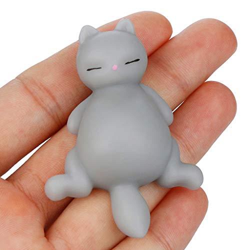 Slow Rising Toy, YUYOUG Soft Mochi Faule Katze Kitty Squishyies Duft Langsam steigendes Jumbo Squishy Toys Stressabbau Spielzeug Geschenke für Kinder Erwachsene -