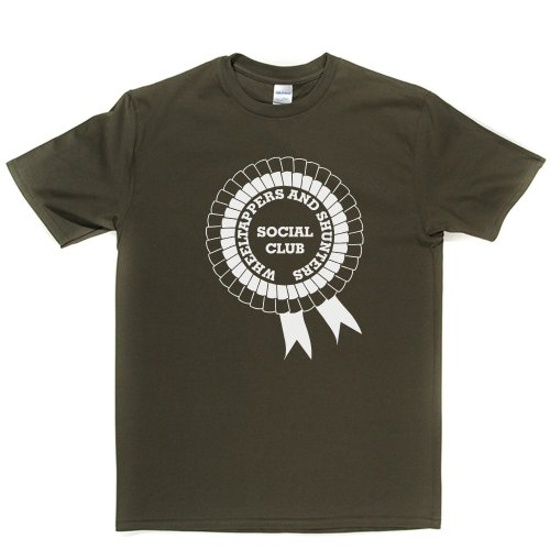 Wheeltappers And Shunters Social Club TV Series 1970s 70s Retro Tee T-shirt Militärgrün