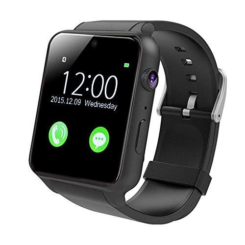 Yarrashop Smartwatch Android Uhr Phone Watch Support SIM mit Kamera Schrittzähler Schlaftracker Romte Capture for Android Samsung IOS