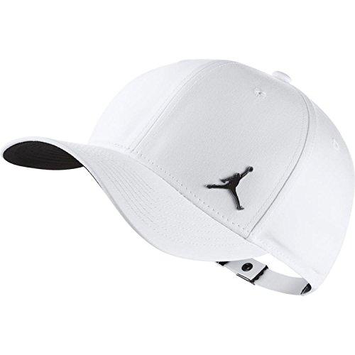 Nike Jordan Clc99 Metal Jumpman Casquette de Tennis pour Adulte Unisexe Taille Unique Blanc