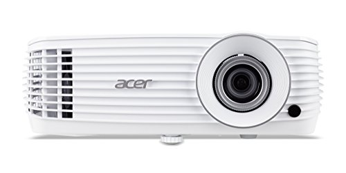 Acer P1650 DLP Projektor (Native WUXGA 1.920 x 1.200 Pixel, Kontrast 10.000:1, 3.500 ANSI Lumen)