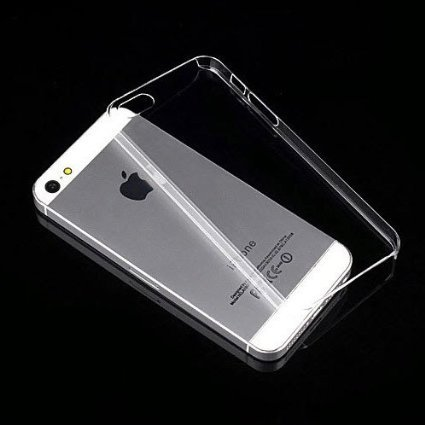 Apple iPhone 5 /5S /5C - Crystal Clear [ Anti-slip ] Shockproof [ Hybrid ] Transparent [ Flexible ] Back Protector Cover  available at amazon for Rs.99