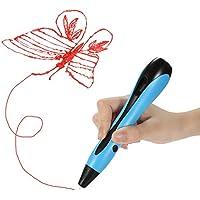 NEXGADGET Plumas 3D Impresión, 3D Pen Bolígrafo con 12 Rollo de Filamento 12 Colores 12 * 25cm