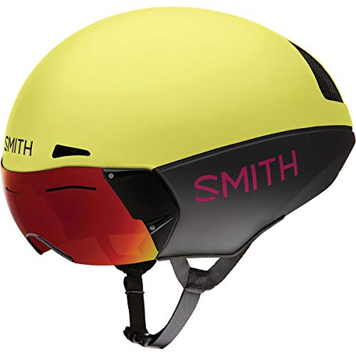 Smith Optics Podium TT Casco, Talla L, Matte Citron/Peony, 5962