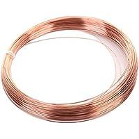 RZDEAL 4 Metro AWG (2 mm diámetro) alambre de cobre sólido conductor T2
