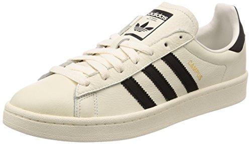 best loved e71bb 7a095 adidas Campus, Sneaker Uomo, Bianco (Chalkwhite Core Black Cream White)