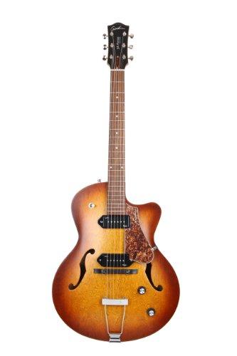 Godin 5th Avenue CW Kingpin II HB Cognac Burst E-Gitarre