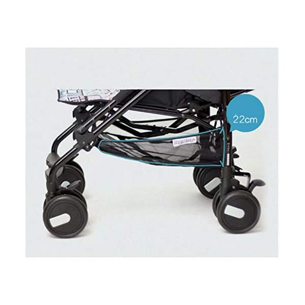 Baby stroller can sit reclining folding light portable mini ultra light small stroller cart 50 * 101 * 84cm lttc EASY RIDE FOR YOUR BABY OR TO: The ltyec Modular Travel System features new Cruiser Tires to provide your child with a smooth ride, while also making the stroller effortless to push with its ergonomic handles Designed for travel, the stroller is lightweight, has a fast, one-hand fold, and stands on its own when folded. An oversized canopy with flip-out visor and peek-a-boo window provides shade and airflow on sunny days and a convenient basket under the seat provides storage for baby items. 4