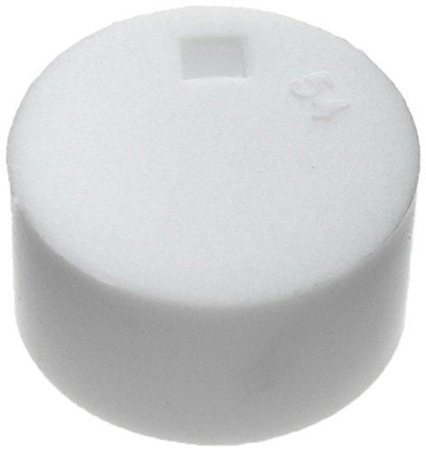 neoLab 7-8070 Kryoröhrchen-Deckeleinsätze, Weiß (500-er Pack)