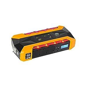 WJJ- 600A Peak 22000mAh arrancador portátil de salto de coche, batería de emergencia Booster Pack, banco de energía…