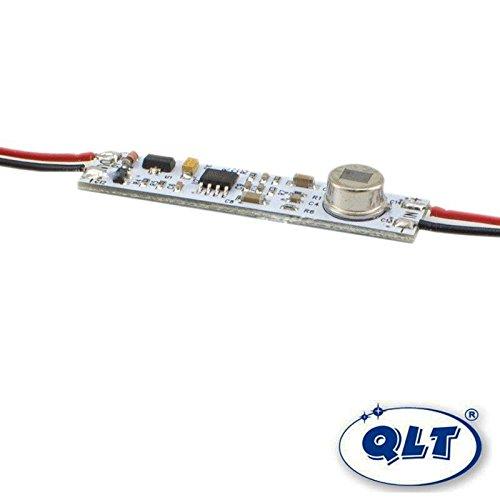 QLT Sensor Detector de movimiento PIR para tira LED en perfiles de aluminio