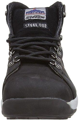 Portwest Steelite FW31 - Chaussures montantes de sécurité - Homme (EUR 46) (Noir) Noir (Black)