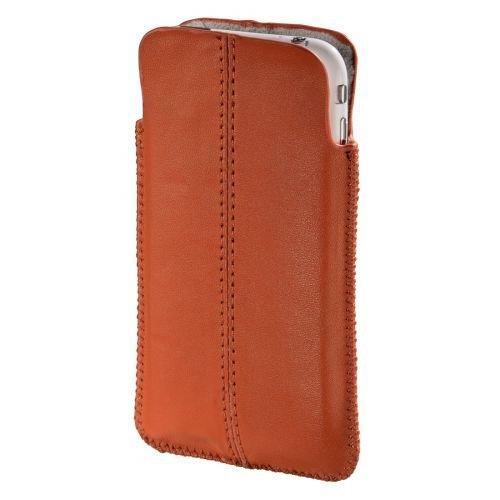 Hama Sleeve for Apple iPhone 3G/3GS Orange - Handy-Schutzhüllen (Apple iPhone 3G/3GS, Orange) Iphone 3g Leder-etui