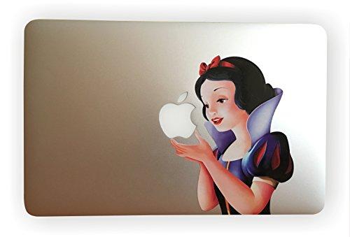 """eppo brand Klassiker Schneewittchen Vinyl Decal Aufkleber für 11\"""" 12\"""" 13\"""" Apple MacBook Laptop"""