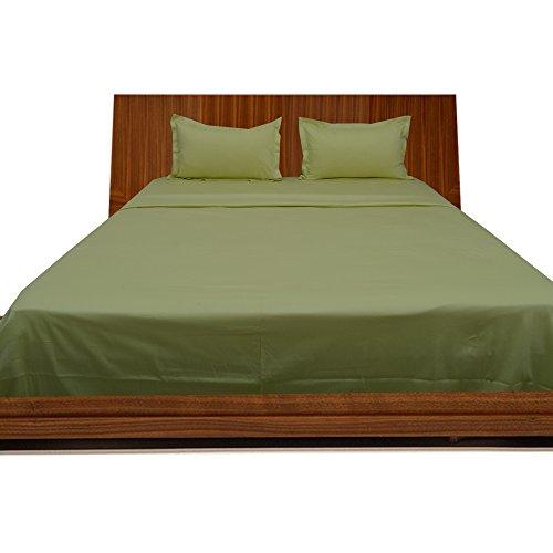 SRP Linen Dreamz Bedding- 1000-thread-count Ägyptische Baumwolle 4Teile Bettwäsche Set 15cm tief Tasche Volle Größe Solide Grün 100% Baumwolle 1000TC