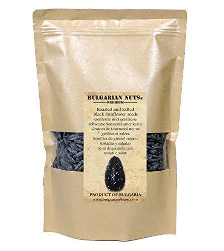 500 g semi di girasole tostati e salati jumbo nero, origine bulgara, macchina laser pulita e selezionata