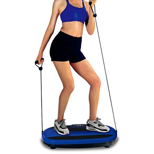 Heth Vibration Plattform für vielfältige Übungen (Blue)