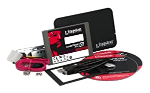 Kingston SV200S3B7A/128G V200-Series Kit SSD 128GB SSD interne Festplatte (6,4 cm (2,5 Zoll), SATA III)