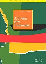 333 idées pour l'allemand par Colette Samson