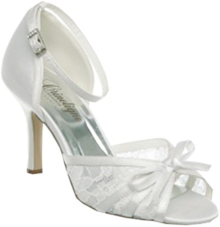 Chaussures de couleur blanche blanche blanche ou ivoire pour femme - Ivoire - P-39B00J9D2IHMParent   Merveilleux  96d99a