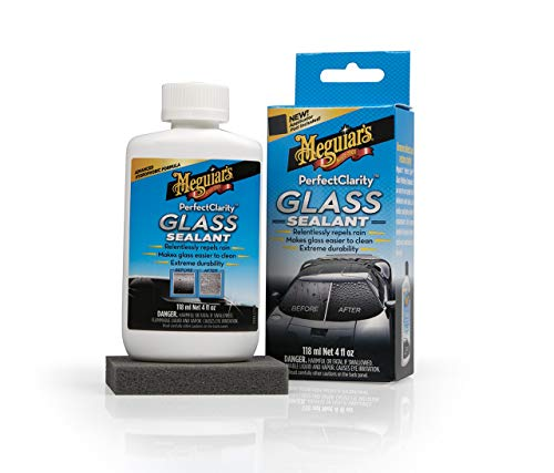 Meguiar's G8504EU Perfect Clarity Glass Sealant Glas- Scheibenversiegelung, 118 ml