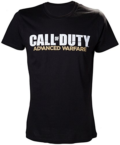 Call of Duty Duty Advanced Warfare T-Shirt Black Screenprinted Size L Bioworld