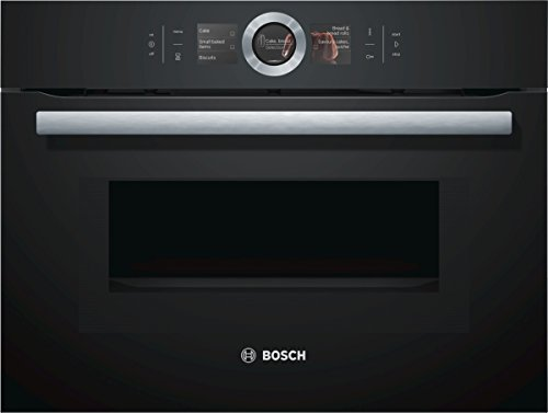 Bosch CMG676BB1 Serie 8 Backöfen und Herde / Mini-Ofen / 45 L / Selbstreinigungs-Technik / PerfectRoast & PerfectBake / schwarz