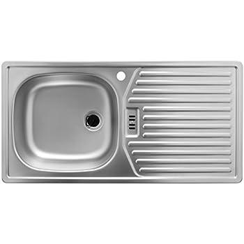 Rieber Einbauspüle E 86 K, Edelstahl Küchenspüle MADE IN GERMANY ...