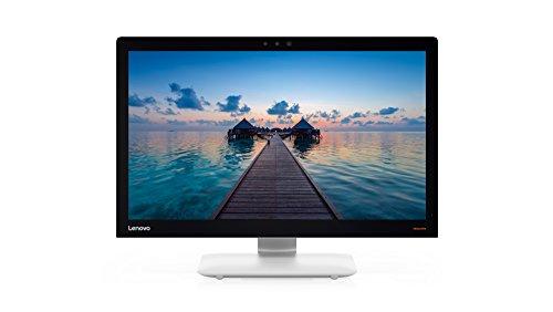 """Lenovo Ideacentre AIO 910-27ISH - Ordenador de sobremesa 27"""" FullHD (Intel Core i7-7700T, 16GB RAM, 1TB HDD + 128GB SSD, Nvidia GT940A-2GB, Windows 10 Home) Plateado - Teclado QWERTY Español + Ratón"""