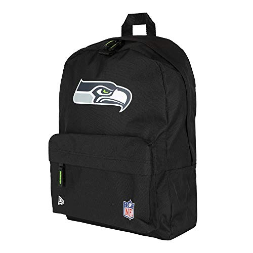 New Era NFL Stadium Bag Seasea Blkotc Tasche, Unisex, Erwachsene, Schwarz, Einheitsgröße