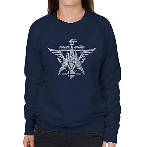Star Fox Squadron Corneria Air Force Women's Sweatshirt