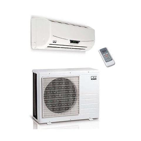 Remko Mur Climatiseur Malaga ML 352 DC diviser en exécution 3,5 kW Convertisseur continu-alternatif