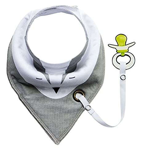 VADOOLL® Baby Bandana Dribble Bavettes avec Snaps Absorbant Cotton Feeding Bibs Cute Baby Gift Set pour nouveau-nés Girls Boys Infants Toddlers style 6