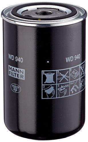 Original MANN-FILTER Ölfilter WD 940 - Hydraulikfilter - Für Nutzfahrzeuge
