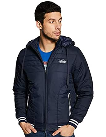 Qube By Fort Collins Men's Jacket (14649_Navy_M)