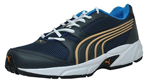 Puma Men's Strike DP Blue-Zinnia Running Shoes - 11 UK