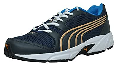 Puma Men's Strike DP Blue-Zinnia Running Shoes - 11 UK/India(46EU)