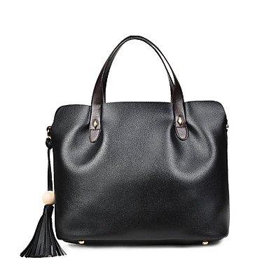 La donna pu formale Evento Casuale/Partito Set borsa Grigio Chiaro vino grigio scuro nero,Nero Light Grey