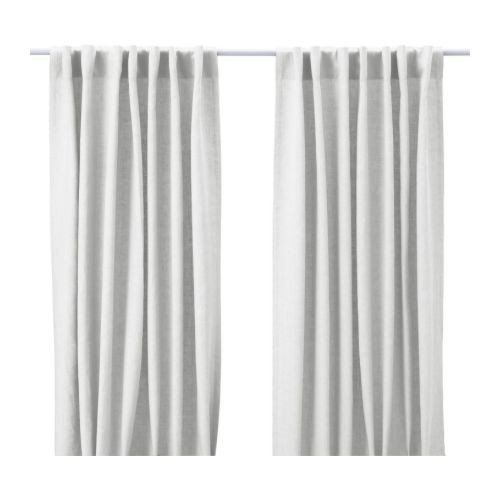 IKEA AINA -Gardinen 1 Paar weiß - 145x300 cm