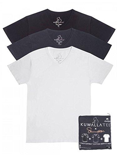 Kuwalla Uomo Jet Crew 3 Pack Maglietta Multicolore