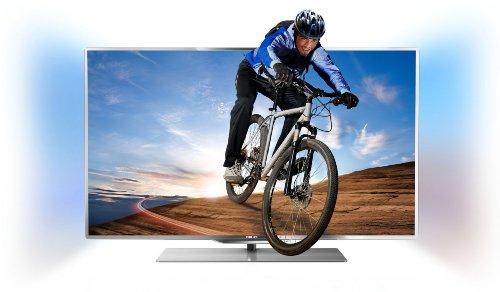 Philips 55PFL7007K/12 140 cm (55 Zoll) Fernseher (Full HD, Triple Tuner, 3D, Smart TV)