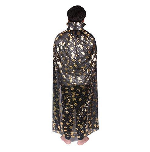 Halloween Cloak Horror Thema Make-Up-Kostüme Festival Themen Mantel (Verschiedene Optional),5
