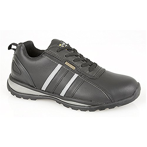 Scarpe nero uomo Nero Black Grafters Nero Grey antinfortunistiche 1BAFFRP