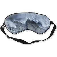 Schlafmaske aus Seide, mit Wellenmuster preisvergleich bei billige-tabletten.eu