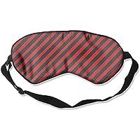 Red And Black Stripes 99% Eyeshade Blinders Sleeping Eye Patch Eye Mask Blindfold For Travel Insomnia Meditation preisvergleich bei billige-tabletten.eu