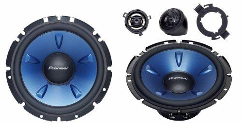 Pioneer TS-H 1703 16,5 cm 2-Wege-Kompo-System Auto-Lautsprecher 180 W schwarz/blau Serie Sub-box