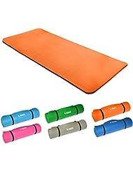 Hansson.Sports–Esterilla de yoga esterilla de gimnasia, 185x 80x 1,5cm/Varios colores/100% schadstofffrei., naranja