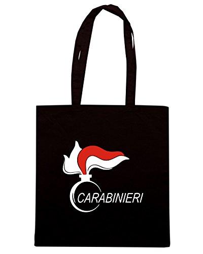 T-Shirtshock - Borsa Shopping OLDENG00436 carabinieri (3) Nero