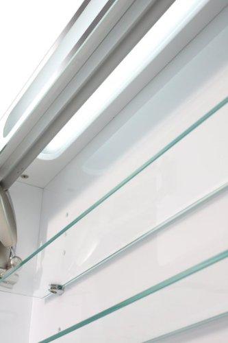 Spiegelschrank Eintürig – Badezimmerschrank von Galdem 100 cm - 4